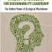 Book Cover - New Psych of Sustainability Leadership