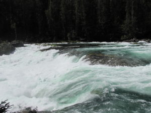 The power of turbulent water